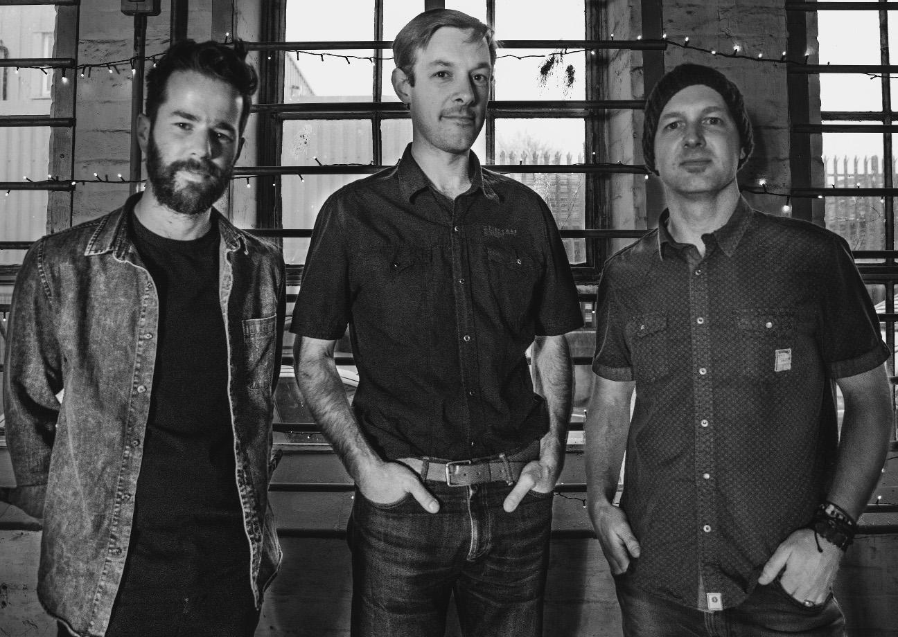 The Matt Palmer Band: Alex (left); Niall (center); Matt (right)